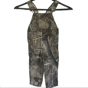 Other - Toddler Bass Pro Shop Camo Bib Overalls 2T   58C